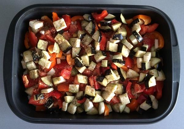 Овощи по-деревенски - фото шаг 3