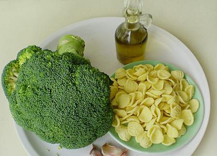 Паста вегетарианская с брокколи - фото шаг 1