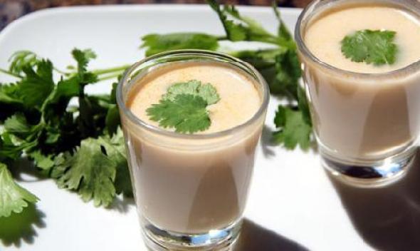 Суп из кокосового молока