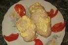Рулет куриный с грибами и сыром