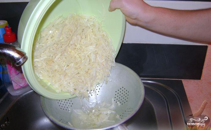 Салат из капусты с уксусом - фото шаг 3