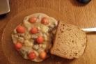 Грибная солянка с картошкой и сметаной