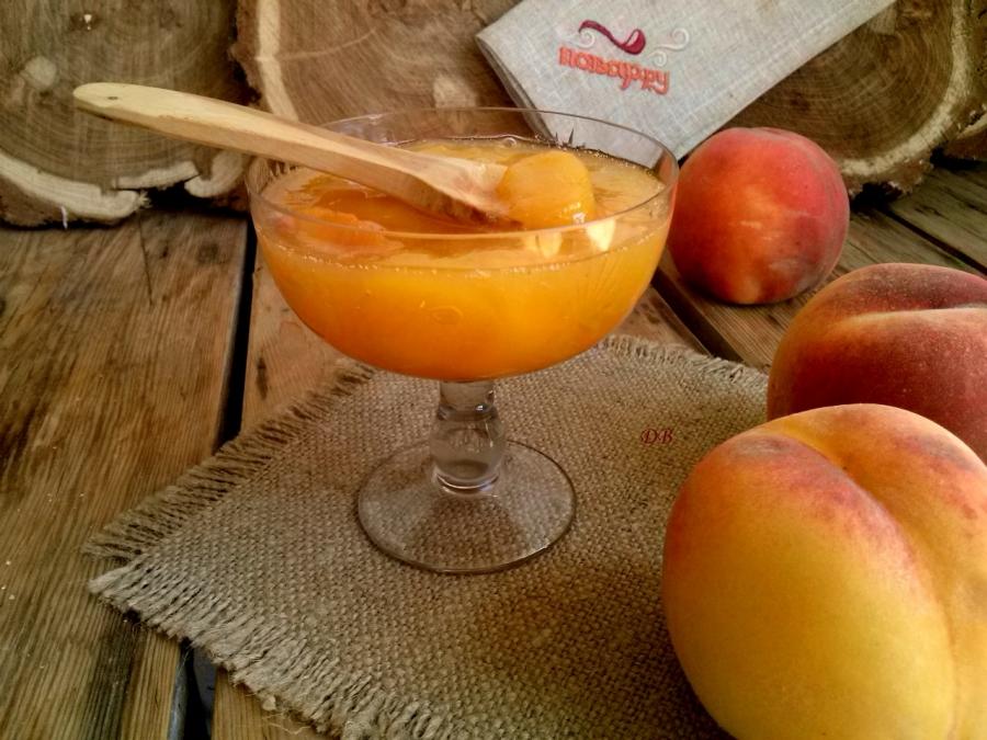 Варенье из персиков густое - фото шаг 4