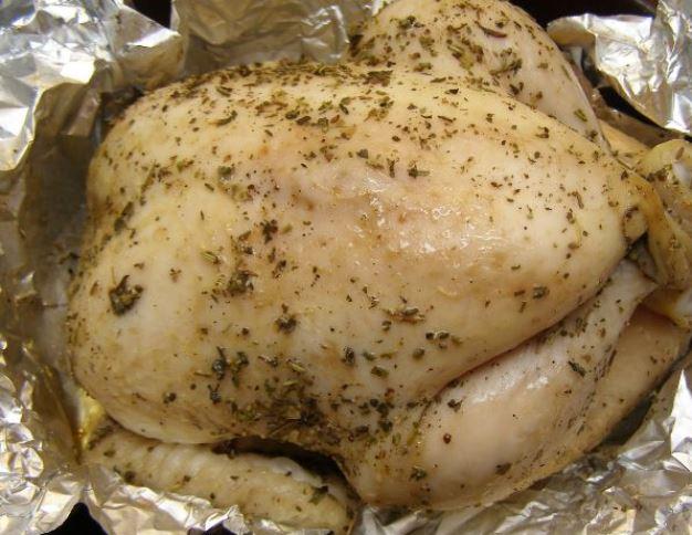 Сочная курица в духовке   - фото шаг 4