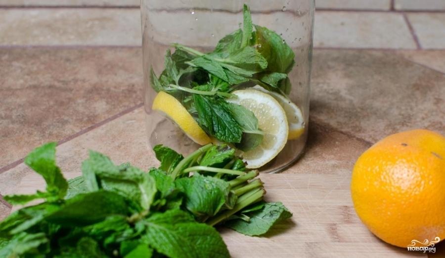 Лимонная вода для похудения - фото шаг 1