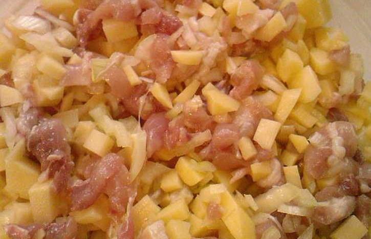 Кубете с курицей и картошкой - фото шаг 3