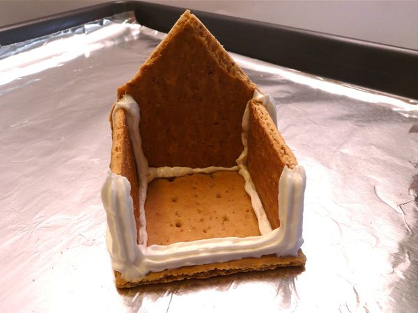 """Торт без выпечки """"Домик"""" - фото шаг 5"""