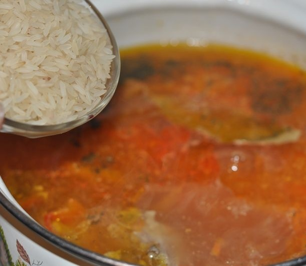 Вкусный суп из свинины - фото шаг 4