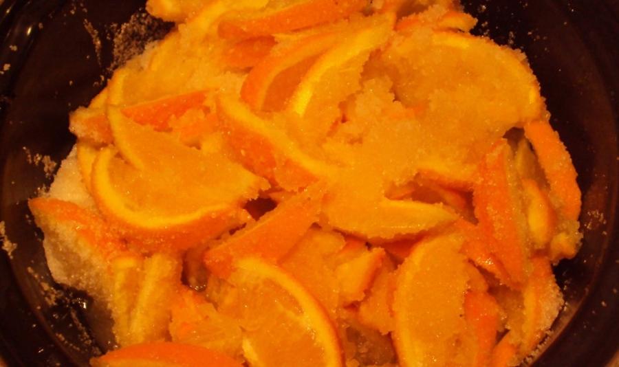 Варенье из апельсинов с кожурой - фото шаг 3