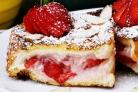 Французские тосты с фруктовой начинкой