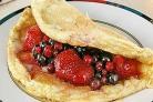 Омлет с ягодами