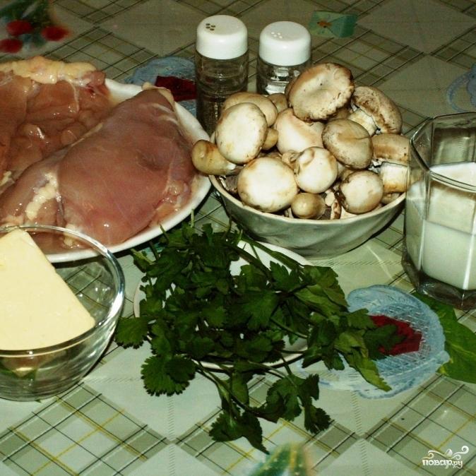 Рецепт Куриные грудки, запеченные в пряностях