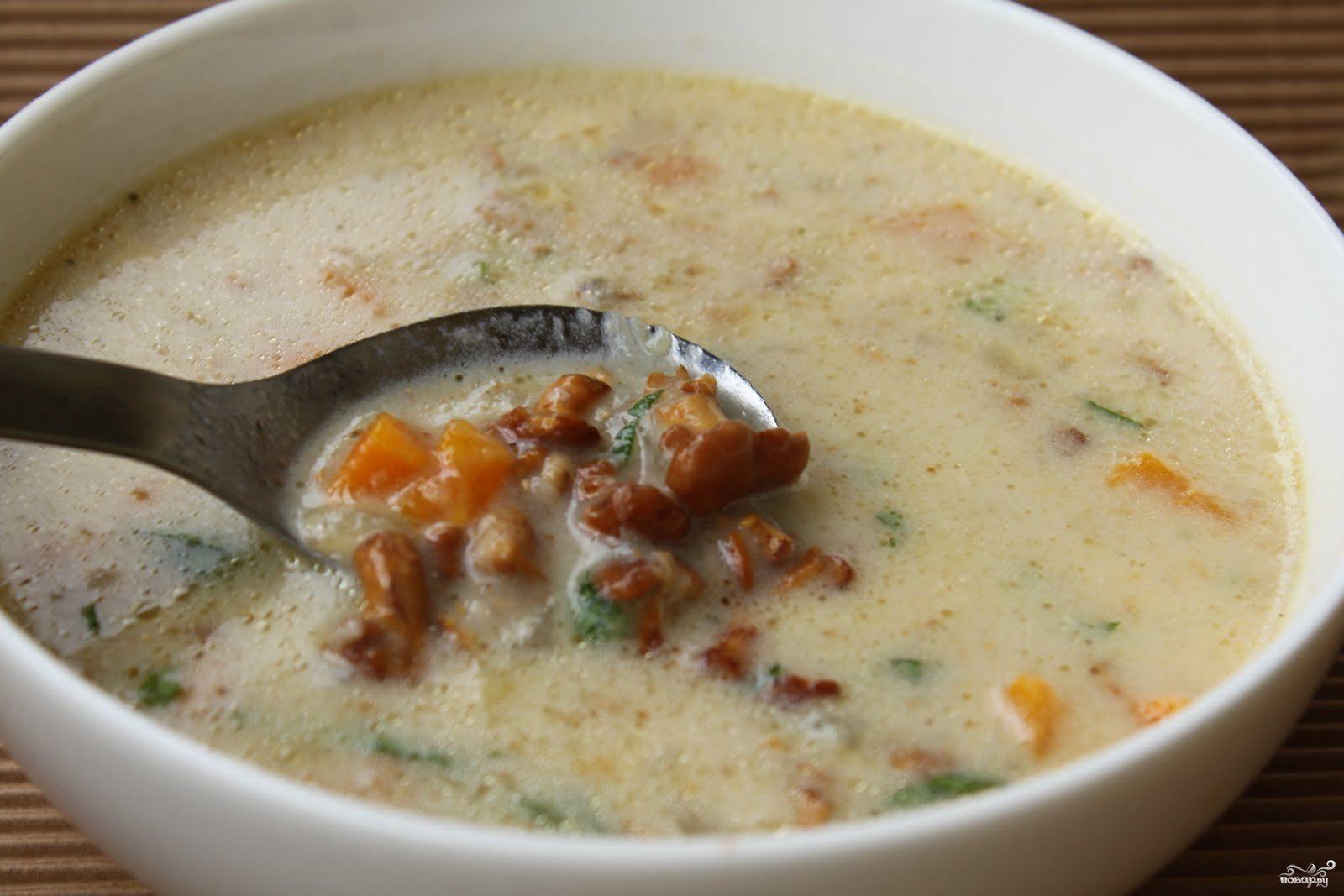Рецепт Суп с лисичками в мультиварке