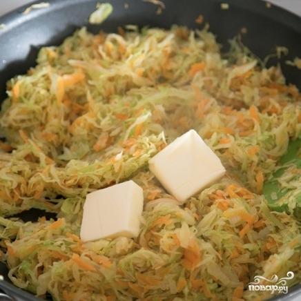 Капуста с рисом - фото шаг 6