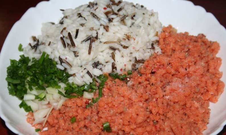 Расстегаи с рисом - фото шаг 3