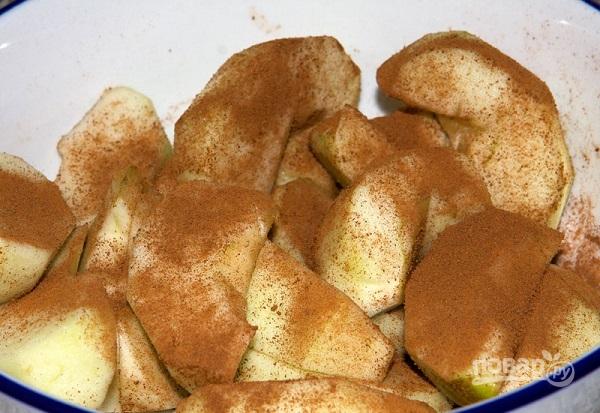 Пирог с яблоками простой - фото шаг 6