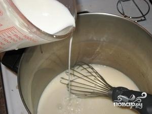 Молочный кисель - фото шаг 4