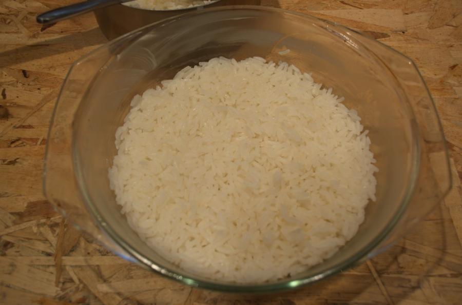 Запеканка мясная с рисом - фото шаг 8