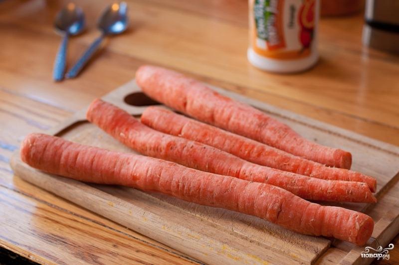 Морковный смузи - фото шаг 1