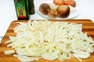 Рецепт Суп грибной с плавленым сыром