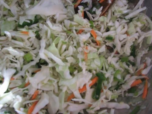 Салат с курицей и ветчиной - фото шаг 6