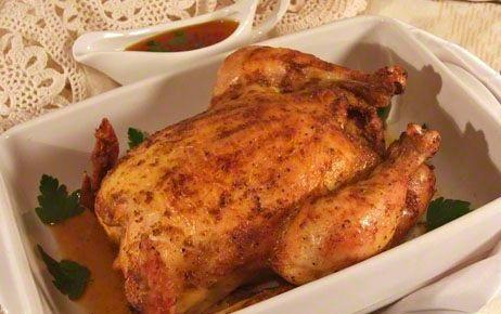 Курица в рукаве - фото шаг 6