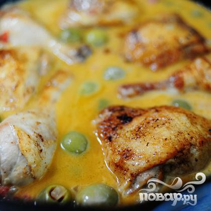 Курица с оливками - фото шаг 19