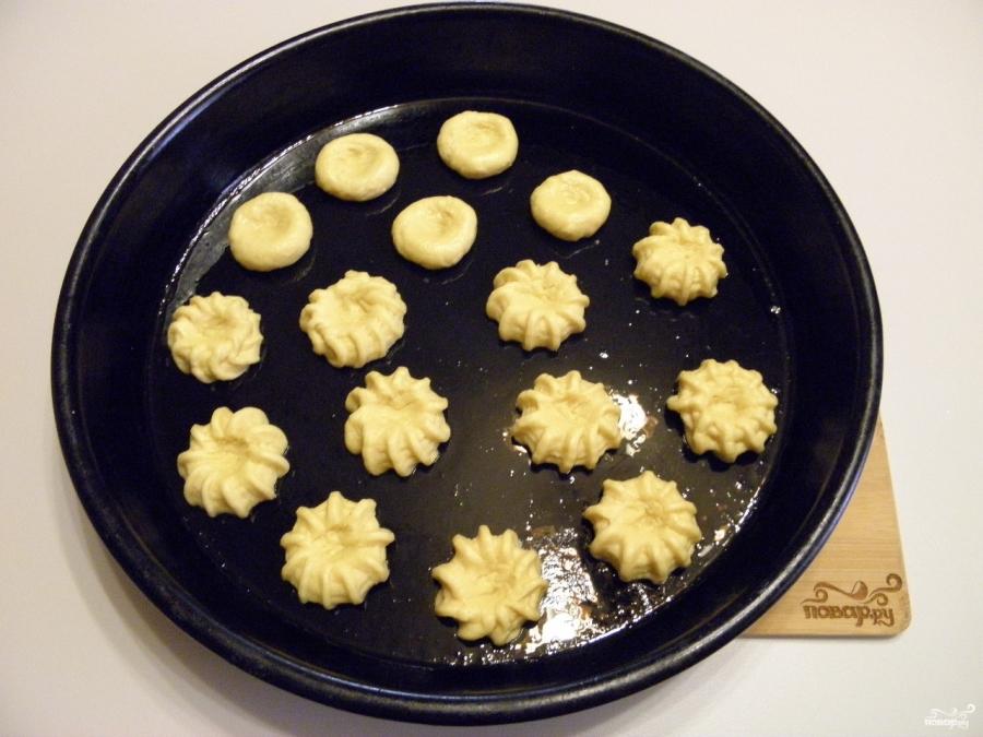 Песочное печенье с вареньем - фото шаг 5