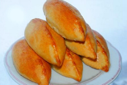 Пирожки с грибами и луком - фото шаг 10