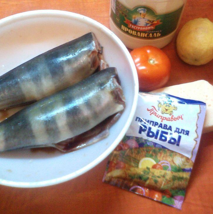 Рецепт Рыба кижуч, запеченная в духовке