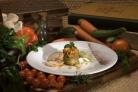 Закуска из баклажана с овощами