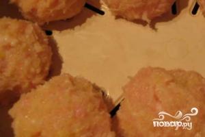 Картофель с куриным фаршем - фото шаг 6