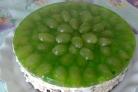 Торт Виноградинка без выпечки