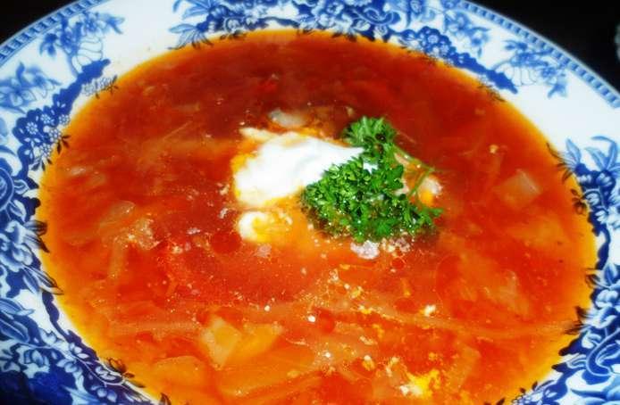 Борщ московский рецепт с фото