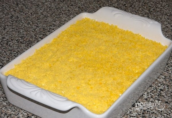 Салат из рыбных консервов с рисом