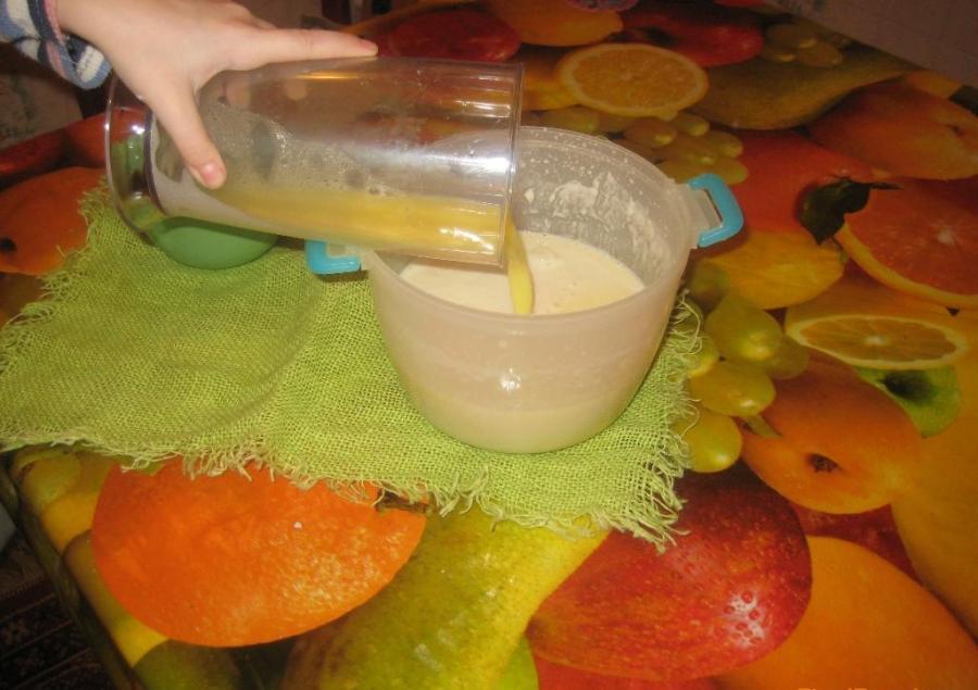 Блины на газированной воде без молока