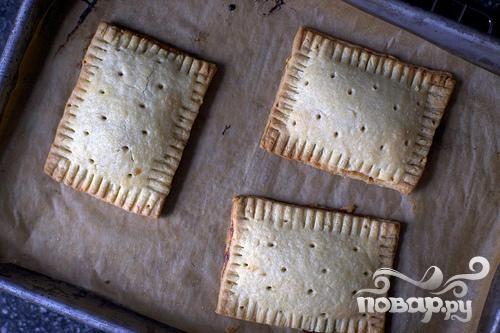 Пироги с начинкой из корицы и джема