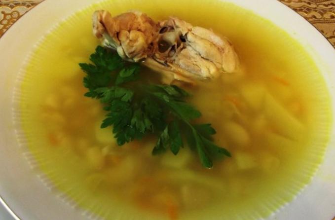 Фасолевый суп с курицей в мультиварке - фото шаг 5