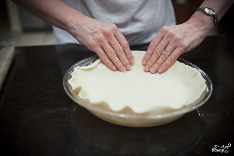 Закрытый пирог с курицей - фото шаг 7