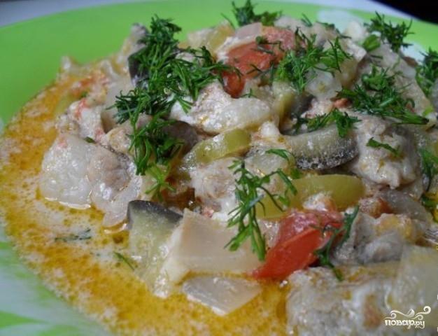 рагу говядина с овощами рецепт с фото