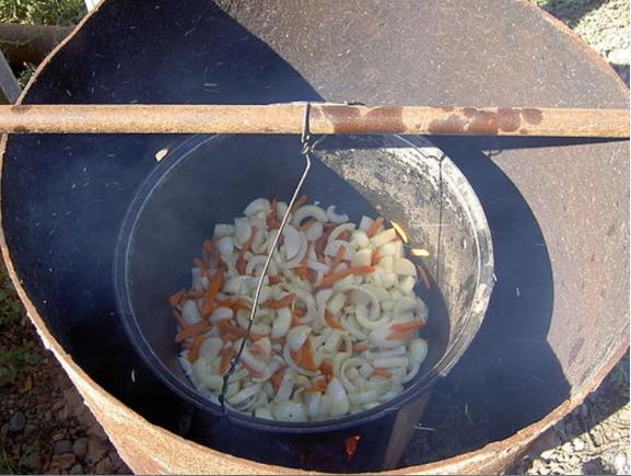 Сорпа из баранины - фото шаг 2