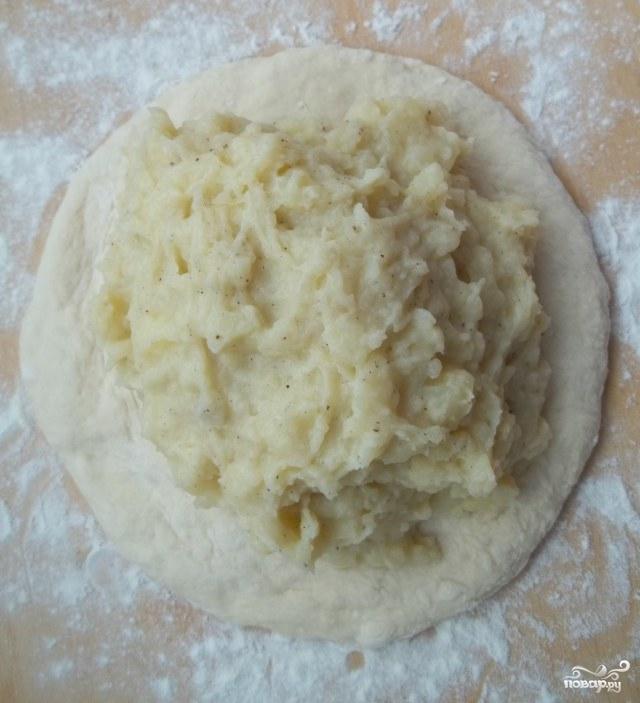 Хачапури с картошкой - фото шаг 11
