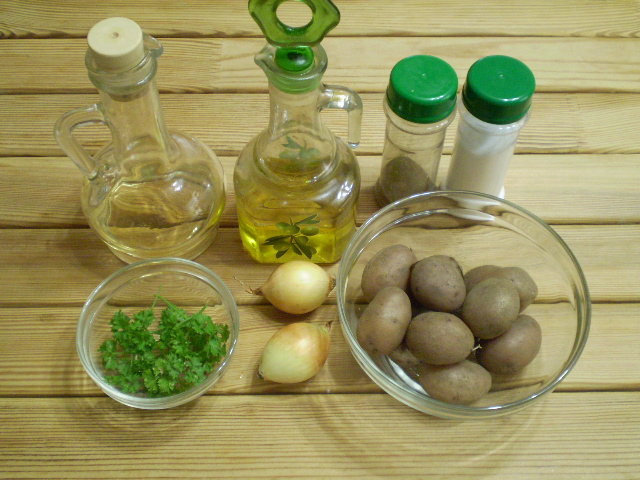 Рецепт Картофель по-андалузски