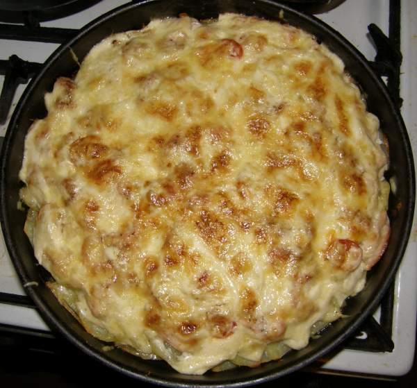 Запеканка с картошкой и курицей - фото шаг 7