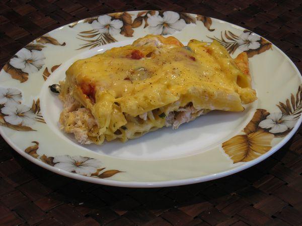 Запеканка из макарон с курицей - фото шаг 4