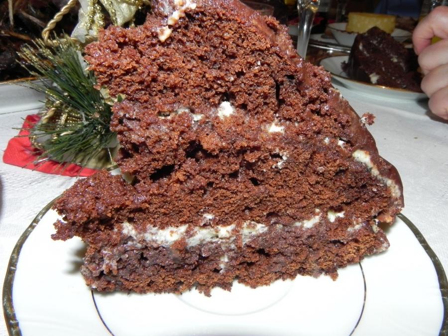 Торт кефирный - фото шаг 5