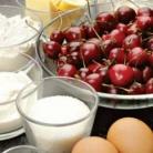 Рецепт Корзиночки с черешней