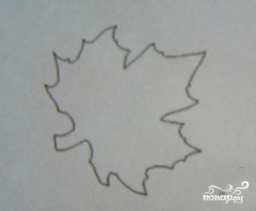 Домашнее печенье в форме кленовых листьев - фото шаг 2