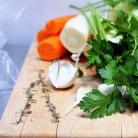 Рецепт Суп с морковью, пастернаком и клецками