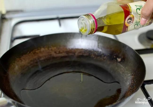 Спагетти с мясом - фото шаг 1